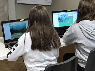 Kinder Programmieren Mädchen