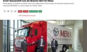 MEWA Pressebericht Dispo